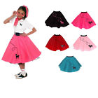 Hip Hop 50s Shop Girls Poodle Skirt Halloween Dance Costume