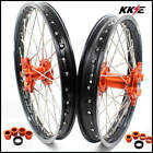 KKE 21/18 ENDURO WHEELS SET FOR KTM EXC EXC F MXC 125 250 300 450 200 500 ORANGE