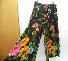 Womens Beautiful bright flower Pants by Bedford Fiar Lifestyles size L100 Rayon