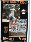 RARE KEVIN MITCHELL WILL CLARK GIANTS 1989 VINTAGE ORIG COSTACOS BASEBALL POSTER