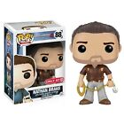 FUNKO POP! UNCHARTED 4 NATHAN DRAKE BROWN SHIRT VARIANT FIGURE TARGET EXCLUSIVE