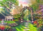 [CHAMBERART] Jigsaw Puzzle 500 Pieces Garden Landscape CA5125 Gift Toys