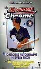 2013 BOWMAN CHROME BASEBALL HOBBY BOX FREE SHIPPING CARLOS CORREA