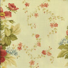 Waverly HARBOR HOUSE GARDEN SAGE Green 667922 Floral Home Decor Drapery Fabric