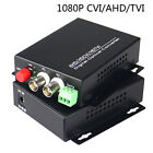 1080P HD CVI AHD TVI 2 Channel Video Data Fiber Optical Media Converters -CCTV