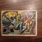 Rare Vintage 1966 Topps Batman Trading Card Highly Collectible!!!