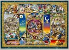 Small Pieces Jigsaw Puzzle Disney Characters World 1000 pcs (42 x 29.7cm) Tenyo