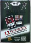 2015 SAGE Hit Football High Series Factory Sealed Hobby Box 12 Auto's