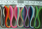 Quilled Creations Quilling Mixed Colors Paper Strips 1 8 inch 3mm 100 pack