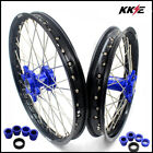 KTM MX COMPLETE WHEELS RIMS SET SX SX-F 125 250 350 450 530 BLUE 21/19 2003-2017
