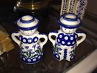 White Man Woman Candle Holders Poland