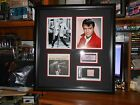 ELVIS PRESLEY AUTOGRAPH+ MORE PSA DNA PROFESSIONALLY FRAMED 25