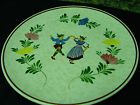 Vintage Hand painted Germany @ Alpine Peasant Ware Decorative Plate