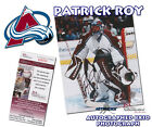 Patrick Roy Cards, Rookie Cards and Autographed Memorabilia Guide 30