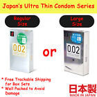 Condom Okamoto 002 0.02 Zero Two Super Extra Ultra Thin Japan Regular or Large