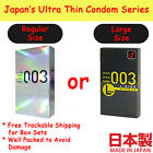 Condom Okamoto 003 0.03 Zero Three Extreme Extra Thin Latex Regular or Large L