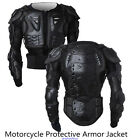 Motorcycle Full Body Armor Jacket Spine Chest Protection Gear S XXXL