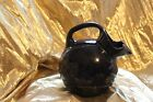 Shenango China Cobalt Blue Tilt Ball Jug Water Pitcher New Castle PA USA