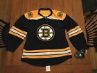 New Reebok Authentic Hockey NHL Jersey Boston Bruins Black Size 52 New With Tags