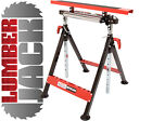 Lumberjack MFW200 Combi Work Stand Bench Trestle Table Roller Stand Folding