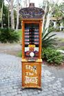 RAJAH THE MYSTIC ORACLE FORTUNE TELLER MACHINE RUNS ON A QUARTER FULLY RESTORED!