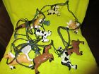 VINTAGE BLOW MOLD HORSES CAMPING STRING PATIO LIGHTS