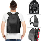 Vivitar Camera Backpack Bag for DSLR and Lens Padded Case for Canon Nikon Sony