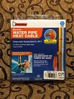 Thermwell Frost King 12 foot Water Pipe Heat Cable - HC12 -Freeze Protection NIB