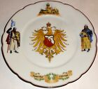ANTIQUE Germany KAISERHOF HOTEL CHICAGO Porcelain PLATE w/KNIGHTS~LOT #2! NR!
