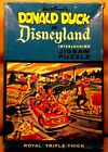 Vintage DONALD DUCK in DISNEYLAND Interlocking PUZZLE TOMORROWLAND Jaymar 1960s