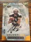 2013 Exquisite Drew Brees In Card auto 1 40 1 1 One Of One