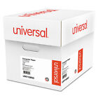 UNIVERSAL Green Bar Computer Paper 20lb 14 7 8 x 11 Perforated Margins 2400