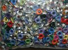 25 PIECES MULTI COLORED 3 16 HEART EYELETS EMBELLISHMENTS