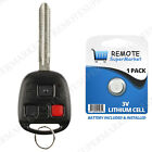 Replacement for 1998 1999 2000 2001 2002 Toyota Land Cruiser Remote Car Key Fob