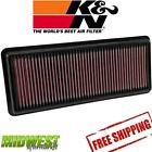 33-5040 K&N Replacement Panel Air Filter Fits 2016-2018 Mazda Miata MX-5 2.0L