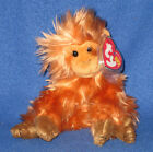 TY CAIPORA the WWF GOLDEN LION TAMARIN BEANIE BABY - MINT with MINT TAGS
