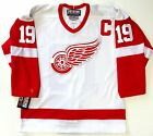 STEVE YZERMAN DETROIT RED WINGS CCM AUTHENTIC NHL ON ICE JERSEY SIZE 48 NEW