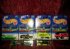 1998 Biohazard Series Complete Set-Lot of 4 Hot-Wheels Vehicles