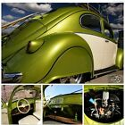 Volkswagen Beetle Classic Slammed HotRod VW Beetle Bug Type 1 Stunning Slammed VW Oval Window Restored Hot Rat Street Rod No Air Ride Bagged