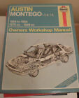 AUSTIN MONTEGO 1.3, 1.6 1984 -1994 HAYNES SERVICE & REPAIR MANUAL 3500