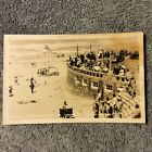 Photo Post Card of Life Guards Tower and Turnaround, Seaside, Oregon
