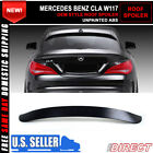 13-18 Mercedes Benz Cla W117 OE Style Roof Spoiler Lid Unpainted ABS