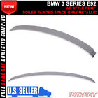 07-13 3 Series E92 AC Style Roof Spoiler Painted Space Gray Metallic # A52