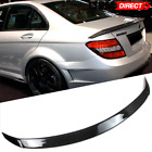 Fit For 08-14 C-Class W204 B Style Trunk Spoiler Wing - Carbon Fiber (CF)