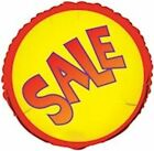 18 Red  Yellow Sale Round Store Promotional Foil Balloon Re Usable