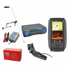 Garmin STRIKER Plus 4cv Echolot & Fishfinder mit ClearVü Portabel Set-XXL-2
