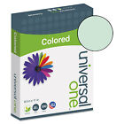 UNIVERSAL Colored Paper 20lb 8 1 2 x 11 Green 500 Sheets Ream 11203