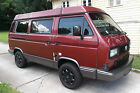 Volkswagen Bus Vanagon Westfalia VW Westy Pop top Full Camper w Sink Fridge Stove 4 speed low miles Water Cooled