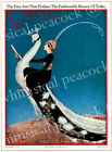 Art Print on Silk Vintage VOGUE Lady riding White Peacock fiber arts collage
