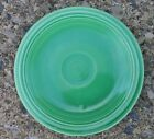 Vintage Old Fiesta Medium Green 6-1/4' Plate Saucer Homer Laughlin Fiestaware